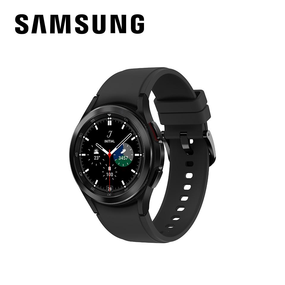 SAMSUNG Galaxy Watch4 Classic不鏽鋼 46mm 幻影黑