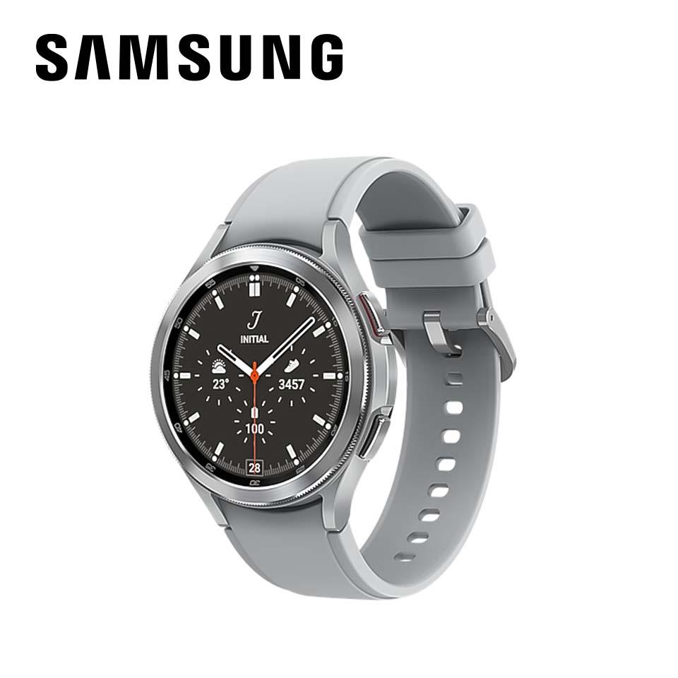 教育優惠|SAMSUNG Galaxy Watch4 Classic不鏽鋼 46mm 鈦灰銀
