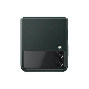 Galaxy Z Flip3 5G 皮革背蓋 綠
