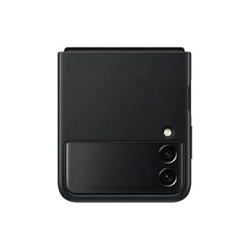 Galaxy Z Flip3 5G 皮革背蓋 黑