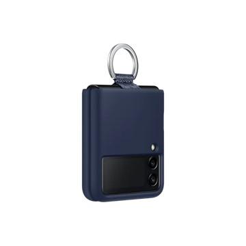 Galaxy Z Flip3 5G 矽膠薄型背蓋 ( 附指環扣 ) 藍