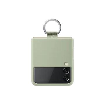 Galaxy Z Flip3 5G 矽膠薄型背蓋 ( 附指環扣 ) 橄欖綠