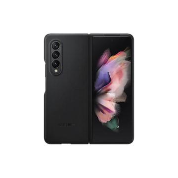 Galaxy Z Fold3 5G 皮革背蓋 黑