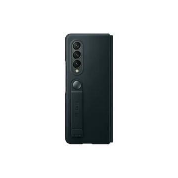 Galaxy Z Fold3 5G 皮革翻頁式皮套 綠