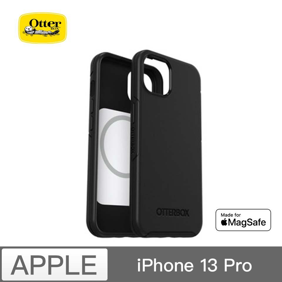 Otterbox iP13 Pro 炫彩幾何 MagSafe-黑