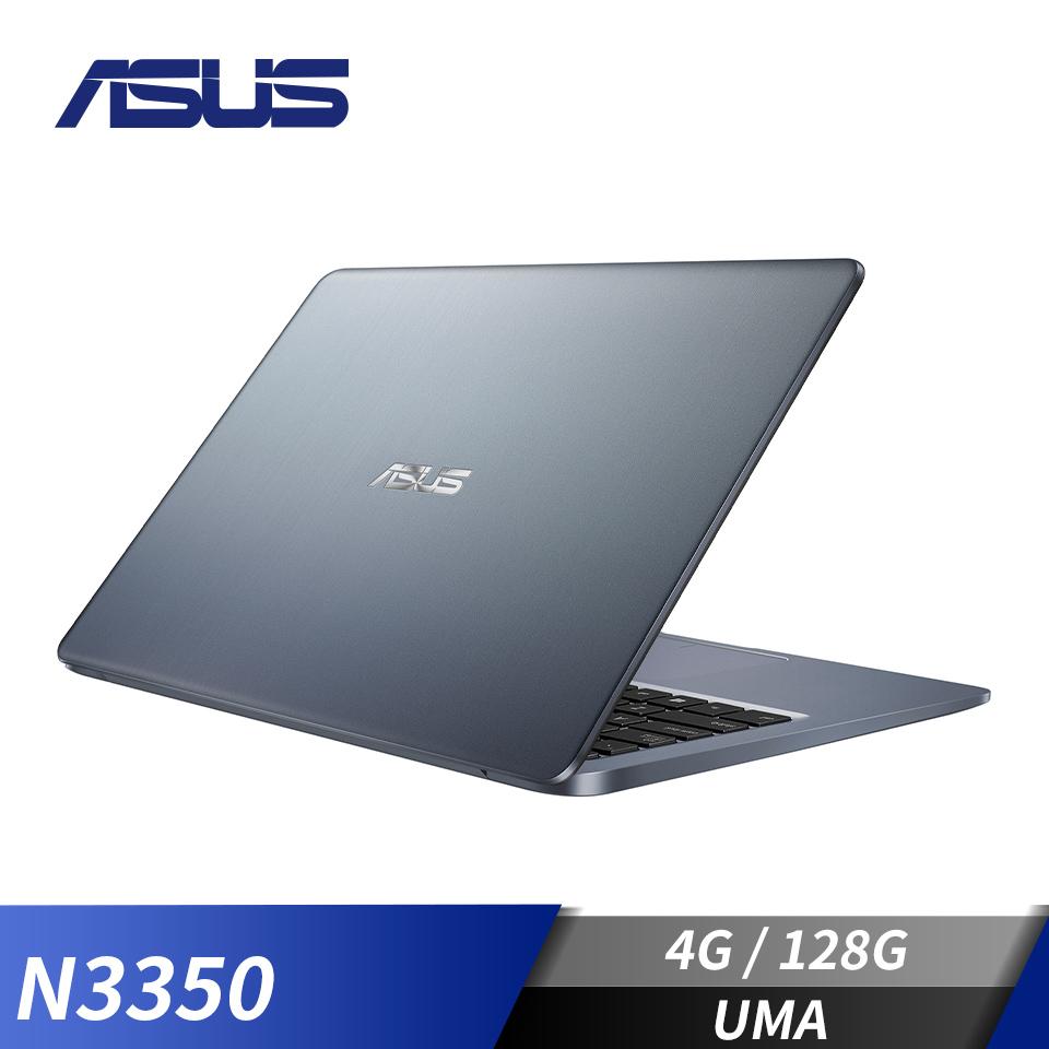 "華碩 ASUS E406 筆記型電腦 14"" (N3350/4G/128G/W10)雲河灰"