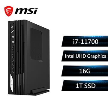 msi微星 PRO DP21 11M-004TW 桌上型電腦(i7-11700/16G/1T/W10P)