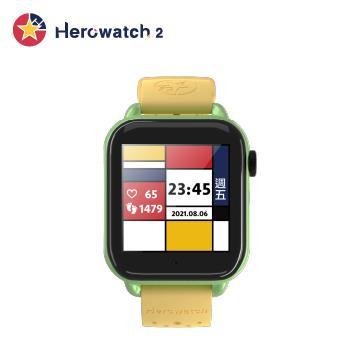 Herowatch 2 4G兒童智慧手錶-精靈黃
