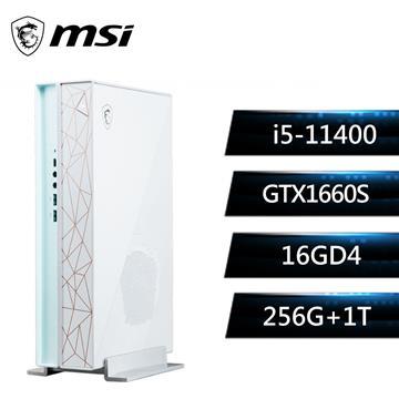 微星MSI Creator P50 創作者主機(i5-11400/16G/256G+1T/GTX1660/W10)