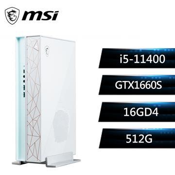 微星MSI Creator P50 創作者主機(i5-11400/16G/512G/GTX1660/W10)